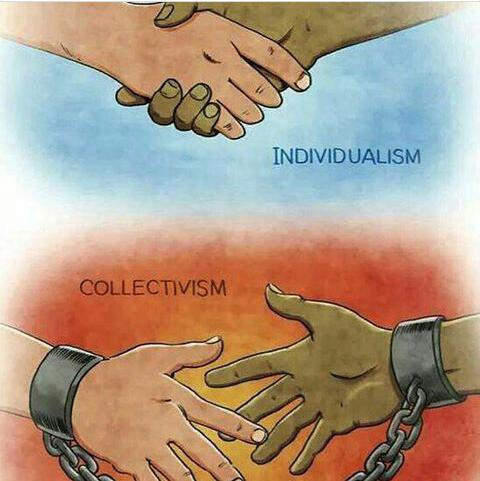 Because I'm not a collectivist. When I say that I am an… | by Hanry Sobjak  de Mello | Medium